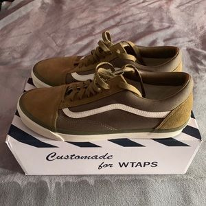 Vans x WTAPS Og Old Skool Lx Green size 13 US